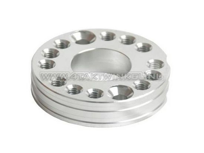 Einstellplatte für Vergaser Aluminium, hell