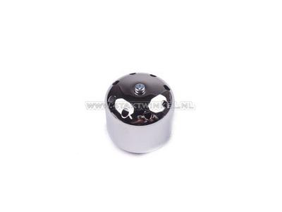 Tuning Luftfilter 35 mm, Chromkappe, kugelförmig