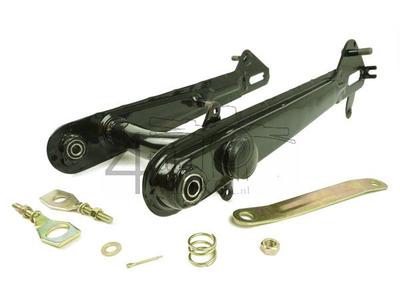 Schwinge C50, niedriges Modell, schwarz, ohne Stützen, Nachfertigung