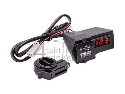 USB-Ladegerät mit 2 Funktionen für 12 Volt