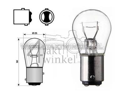 Hecklampe Duplo BAY15D, 12 Volt, 18-5 Watt