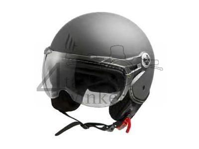 Helm MT, Le Mans Soul Retro, grau, Größen XS bis XXL