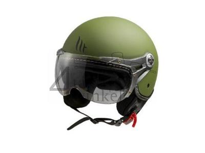 Helm MT, Le Mans Soul Retro, grün, Größen XS bis XXL