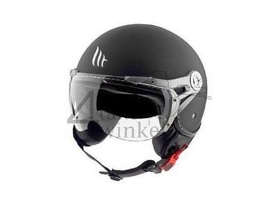 Helm MT, Le Mans Soul Retro, schwarz, Größen S bis XXL