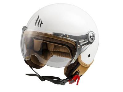 Helm MT, Le Mans Soul Retro, Weiß, Größen S bis XXL
