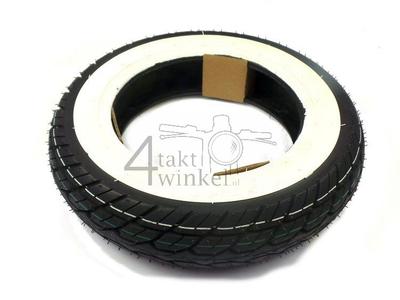 Reifen 10 Zoll, Kenda K418, 120/70, Weißwand