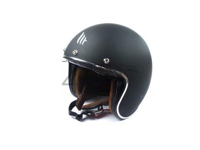 Helm MT, Le Mans Speed, Mattschwarz, Größen S bis XL
