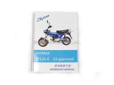 Werkstatthandbuch, Skyteam Dax, 125 ccm, euro4