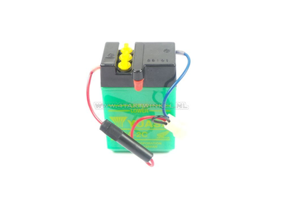 Batterie 6 Volt 2 Ampere, Dax, NOS, original Honda
