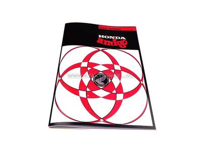 Werkstatthandbuch, Honda Amigo, Novio, A4, A-Wahl