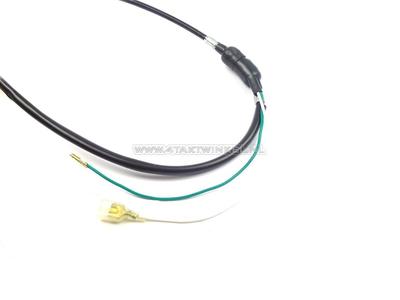 Bremszug 100cm Dax OT mit Schalter schwarz, Nachfertigung