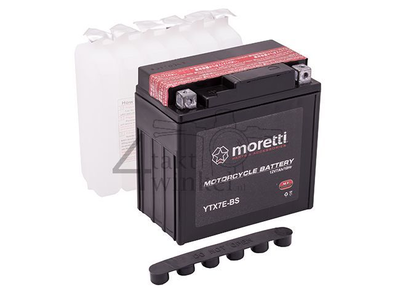 Batterie 12 Volt 7 Ampere AGM, MTX7E-BS, zB MASH Fifty