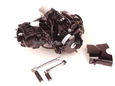 Motor, 70 ccm, manuelle Kupplung, Lifan, 4-Gang, Anlasser oben