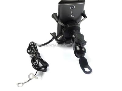 USB-Ladegerät, Telefonhalter, für 12 Volt