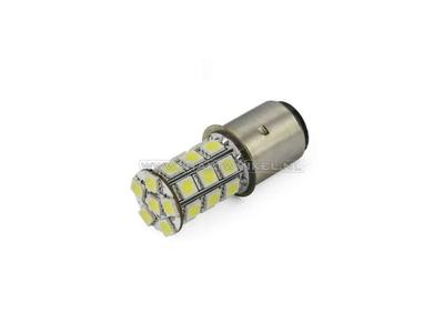 Scheinwerfer Lampe BA20d, Doppelt, 12 Volt, LED, zB Skyteam, MASH