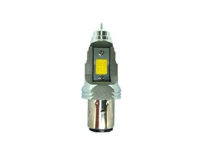 Scheinwerfer Lampe BA20d, Doppelt, 12 Volt, 11-11 Watt, LED, zB Skyteam, MASH