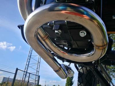 Tuningauspuff, AGM Cafe Racer, Skyteam Classic, Kepspeed, Edelstahl