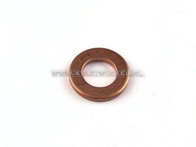 Ring 6mm, Kupfer