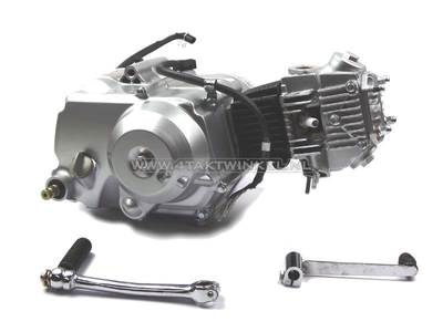 Motor, 70 ccm, halbautomatisch, Lifan, 4-Gang, Silber