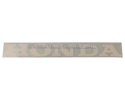 Aufkleber Honda Universal 22cm weiß