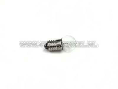 Glühlampe E10 Schraubfassung, 6 Volt, 0,5 Watt