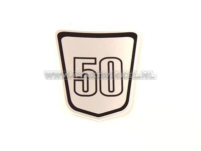 Aufkleber Dax Emblem unter Sitzbank, Skyteam, 50