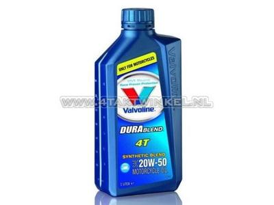 Öl Valvoline 20W-50 halbsynthetisch, 4-Takt, 1 Liter