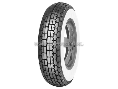 Reifen 8 Zoll, Mitas B13, Weißwand, 3.50