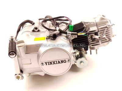 Motor, 70 ccm, manuelle Kupplung, YX, 4-Gang, mit Anlasser