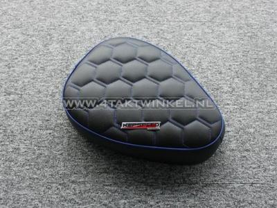 Sitzbank, C50 NT, C50 Replika, Streetcub, flach, Wabe, blau