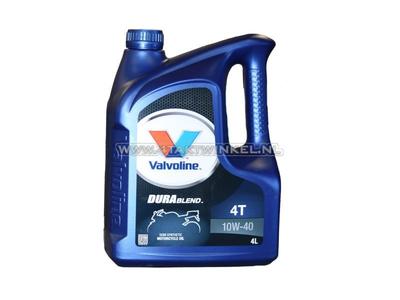 Öl Valvoline 10W-40 halbsynthetisch, 4-Takt, 4 Liter