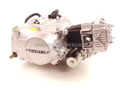 Motor, 50 ccm, manuelle Kupplung, YX, 4-Gang, mit Anlasser