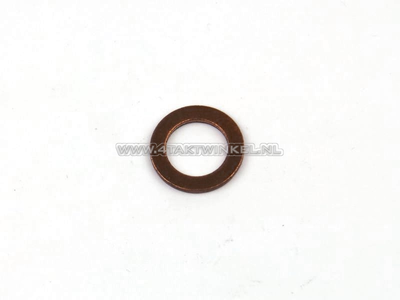 Ring 6mm, Kupfer, original Honda