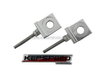 Kettenspanner Paar für C50, SS50, CD50 Kepspeed-Schwinge, Aluminium
