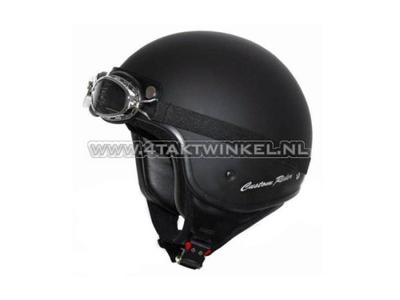 Helm MT, Custom Rider, mattschwarz, Größen S bis XL