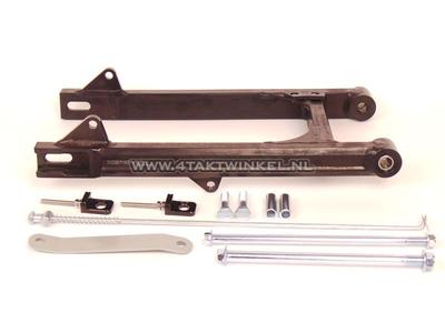 Schwinge C50, SS50, CD50 Aluminium, Kepspeed, + 6 cm, schwarz