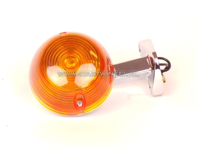 Blinker C50 OT hinten, Nachfertigung, A-Qualität, Flachglas