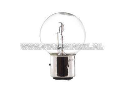Scheinwerfer Lampe BA21D, Doppelt, 6 Volt, 35-35 Watt, Dax 3-polig