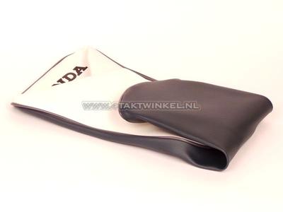 Sitzbankbezug C310 grau / weiß, Honda Kennzeichnung, Nachfertigung