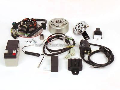 CDI Zündung Umrüstsatz & 12 Volt Strom SS50, CD50, C50, C70, ST50, ST70, Dax, leichtes Schwungrad