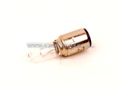 Scheinwerfer Lampe BA20d, Doppelt, 6 Volt, 15-15 Watt, Halogen, zB Dax