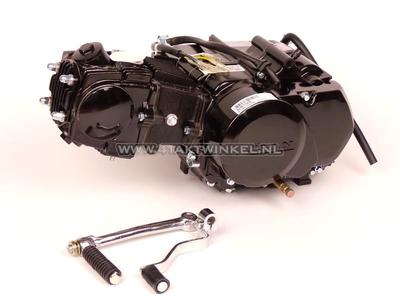 Motor, 85 ccm, manuelle Kupplung, Lifan, 4-Gang, schwarz