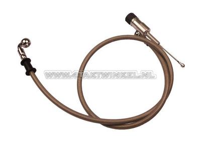 Hydraulische Kupplung, Pumpe und Rohr 95 cm
