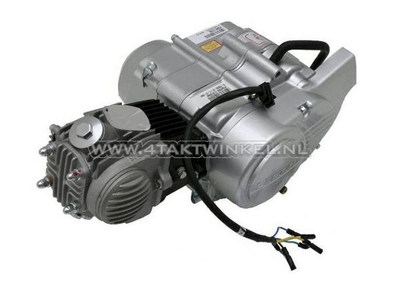 Motor, 50 ccm, halbautomatisch, Lifan, 4-Gang, Silber