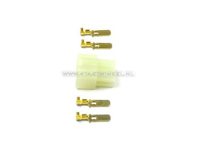 Anschluss japanisch, Stecker 6,3 mm 4-poliger männlich