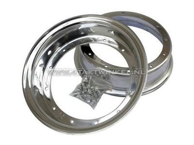 Felge Dax 10 Zoll Aluminium, Standardoptik, 4.50, Kepspeed