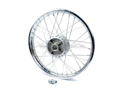 Rad komplett, Hinterrad, 17 Zoll C50, CD50, Aspira