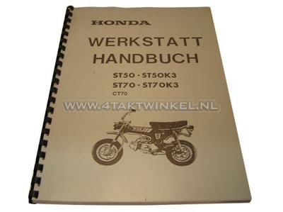 Werkstatthandbuch, Honda Dax OT 6 Volt