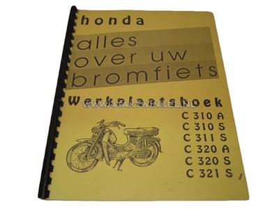 Werkstatthandbuch, Honda C310, C320 sowohl A als auch S.