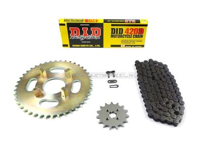 Kettenräder und Kettensatz, CY50 Standard +2